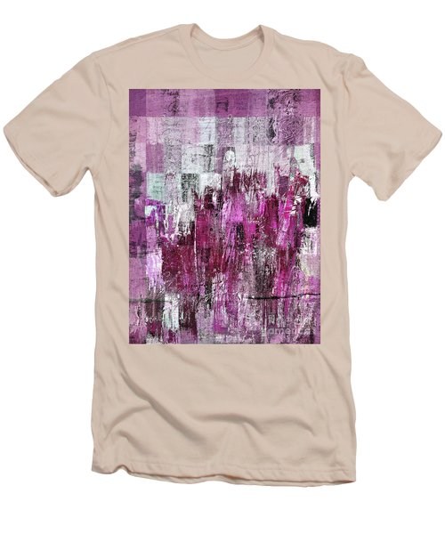 Men's T-Shirt (Slim Fit) featuring the digital art Ascension - C03xt-165at2c by Variance Collections