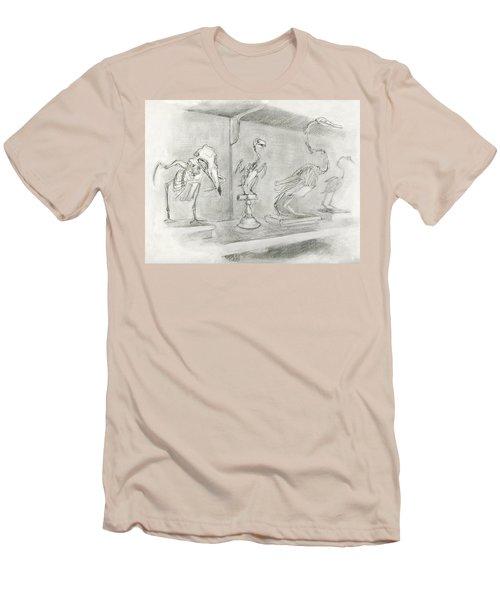 Bird Skeletons Men's T-Shirt (Athletic Fit)