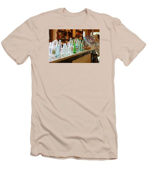 Men's T-Shirt (Slim Fit) featuring the photograph At The Store by Steven Clipperton