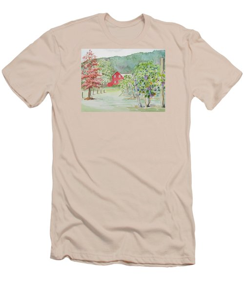 At The Winery Men's T-Shirt (Athletic Fit)