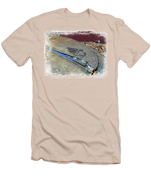 Austin A40 Somerset Flying A Men's T-Shirt (Slim Fit) by Nick Kloepping