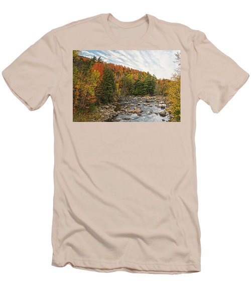 Autumn Adirondack Angling Men's T-Shirt (Athletic Fit)