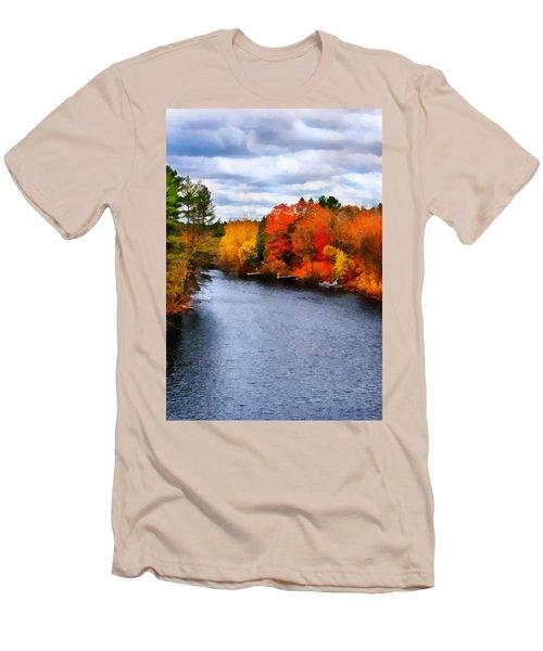 Autumn Channel Men's T-Shirt (Athletic Fit)