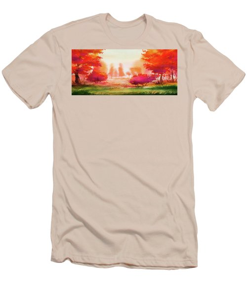 Autumn Delight Men's T-Shirt (Athletic Fit)