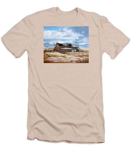 Autumn Slips Away Men's T-Shirt (Athletic Fit)