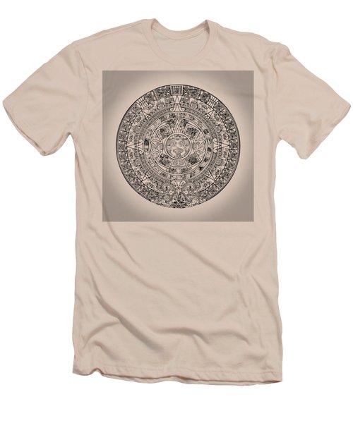 Aztec Sun Men's T-Shirt (Athletic Fit)