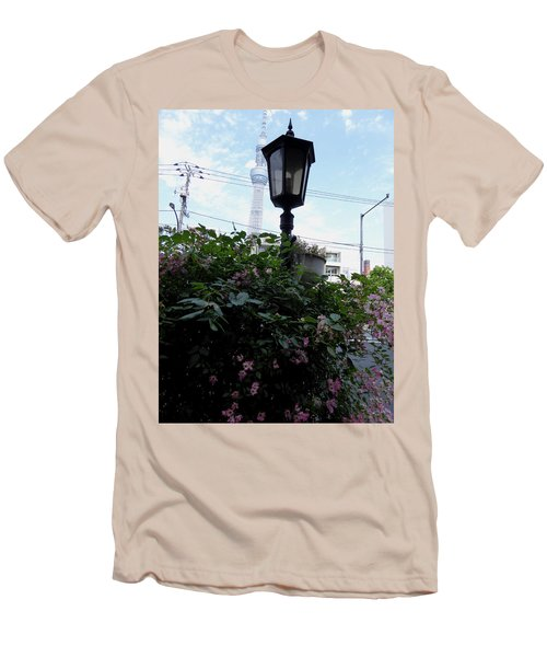 Back Street In Tokyo Men's T-Shirt (Athletic Fit)