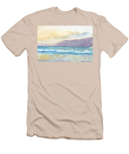 Ballenskelligs Beach Men's T-Shirt (Athletic Fit)