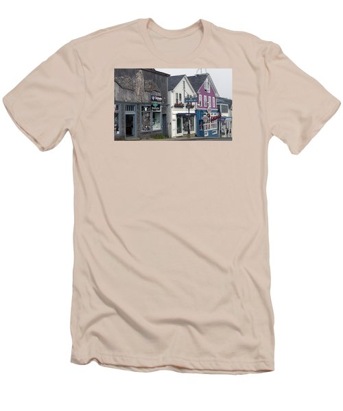 Bar Harbor Men's T-Shirt (Slim Fit) by Helen Haw