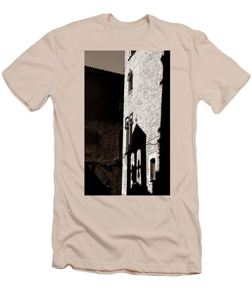Men's T-Shirt (Slim Fit) featuring the photograph Barcelona 2b by Andrew Fare