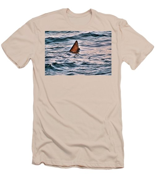 Basking Shark In July Men's T-Shirt (Athletic Fit)