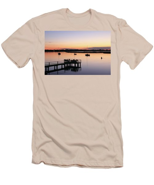 Bass River Before Sunrise Men's T-Shirt (Athletic Fit)