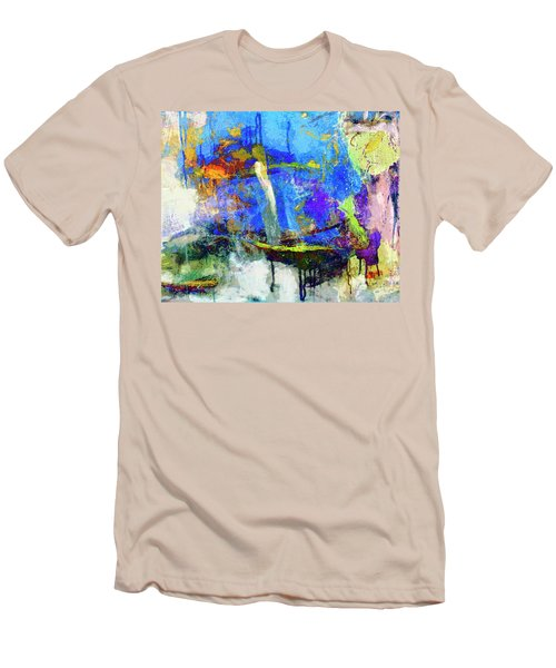 Men's T-Shirt (Slim Fit) featuring the painting Bayou Teche by Dominic Piperata