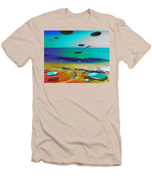 Beach Orbs Men's T-Shirt (Athletic Fit)