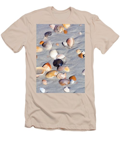 Beach Shells Men's T-Shirt (Athletic Fit)