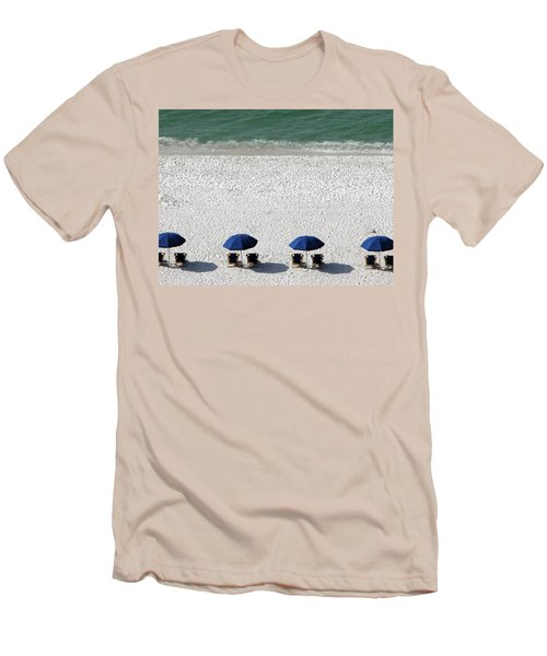 Men's T-Shirt (Slim Fit) featuring the photograph Beach Therapy 2 by Marie Hicks