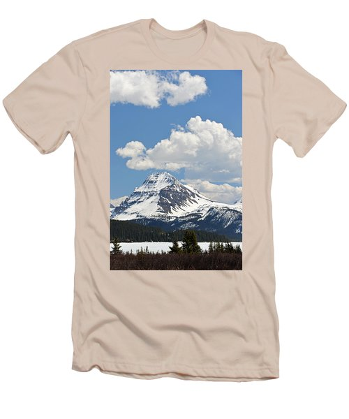 Beautiful Bow Lake Men's T-Shirt (Athletic Fit)