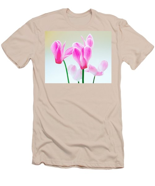 Beautiful Pink Men's T-Shirt (Athletic Fit)