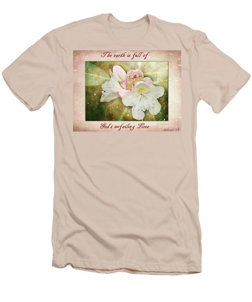 Beauty Of A Rhododendron Men's T-Shirt (Athletic Fit)