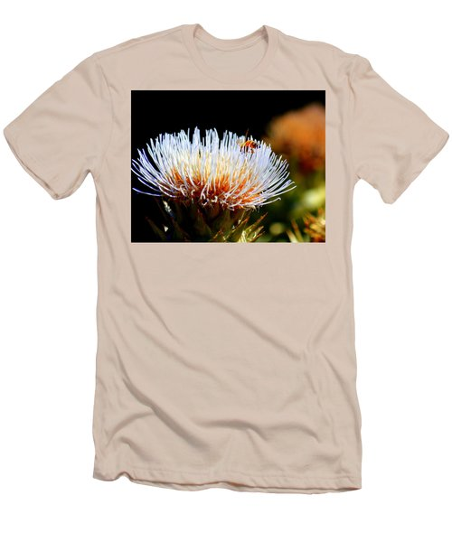 Bee And Artichoke Men's T-Shirt (Athletic Fit)