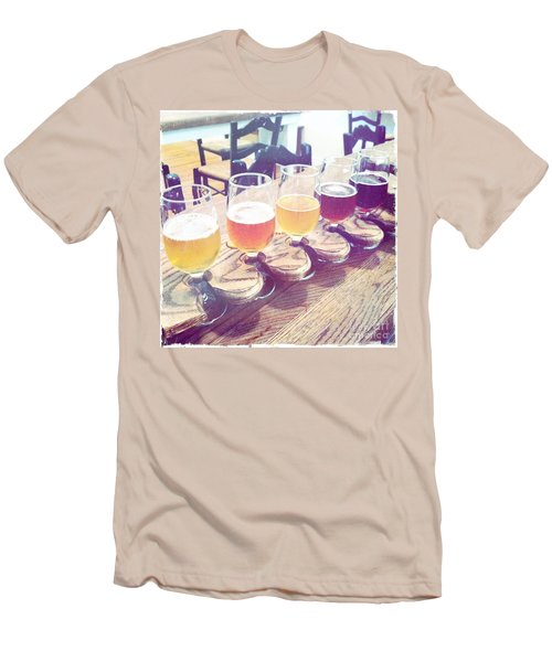 Beer Flight Men's T-Shirt (Slim Fit) by Nina Prommer