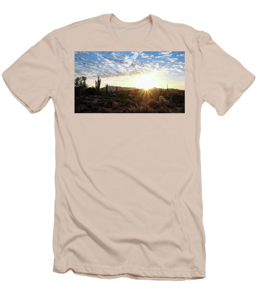 Beginning A New Day Men's T-Shirt (Athletic Fit)