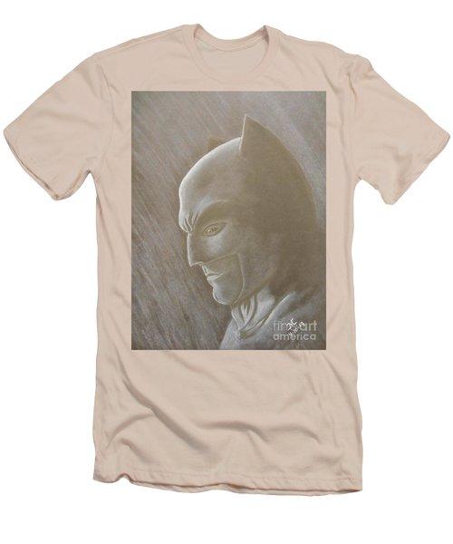 Ben As Batman Men's T-Shirt (Slim Fit) by Josetta Castner