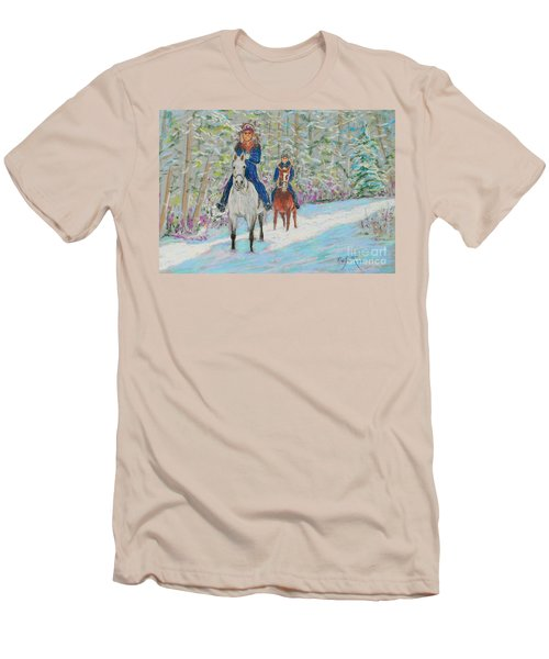 Beth And Nancy  Men's T-Shirt (Slim Fit) by Rae  Smith  PAC