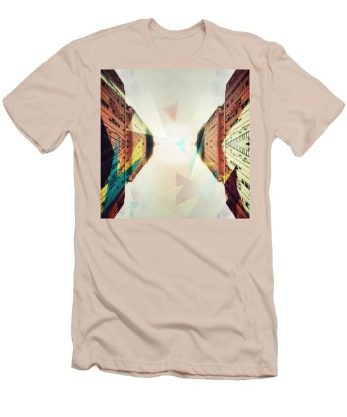 Between Imagination And Reality Men's T-Shirt (Athletic Fit)