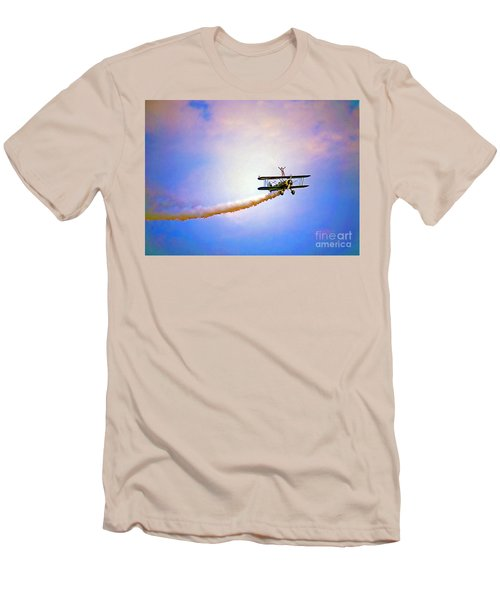 Bi-plane And Wing Walker Men's T-Shirt (Athletic Fit)