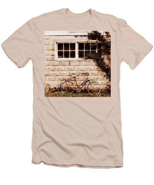 Bicycle Men's T-Shirt (Slim Fit) by Julie Hamilton