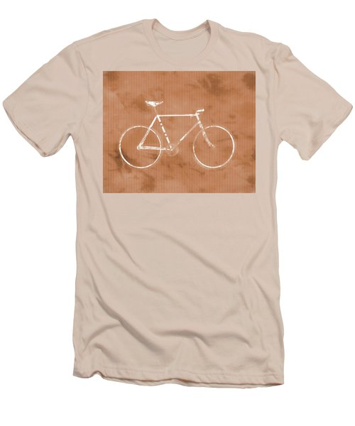 Bicycle On Tile Men's T-Shirt (Slim Fit) by Dan Sproul