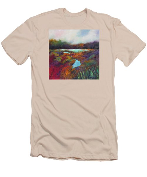 Big Pond In Fall Mc Cormick Woods Men's T-Shirt (Athletic Fit)