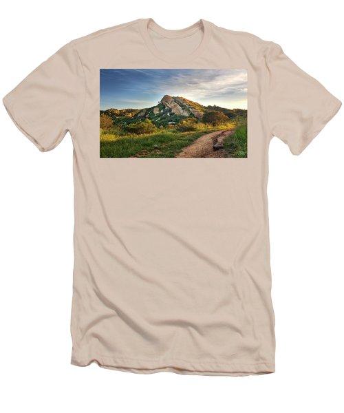 Big Rock Men's T-Shirt (Slim Fit) by Endre Balogh