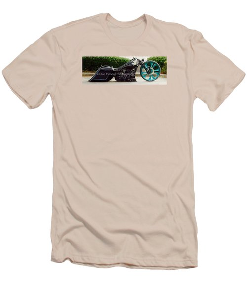 Men's T-Shirt (Slim Fit) featuring the photograph Big Wheel - No.1215 by Joe Finney