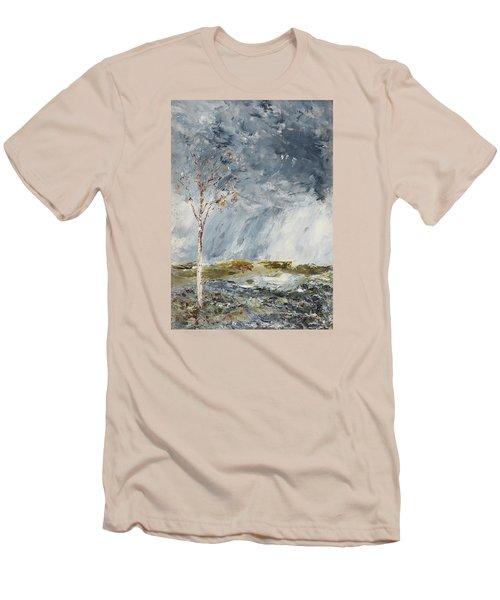 Birch I Men's T-Shirt (Slim Fit) by August Strindberg