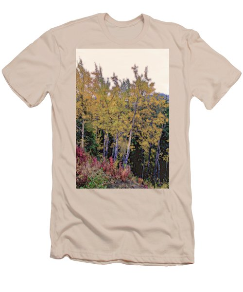 Birch Trees #2 Men's T-Shirt (Athletic Fit)
