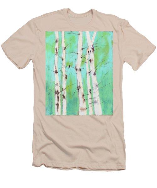 Birdsong Men's T-Shirt (Athletic Fit)