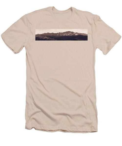Black Elk Peak Men's T-Shirt (Athletic Fit)