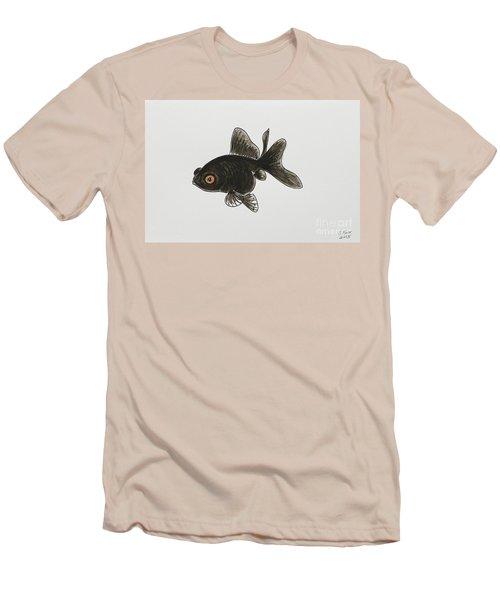 Black Moor Men's T-Shirt (Slim Fit) by Stefanie Forck