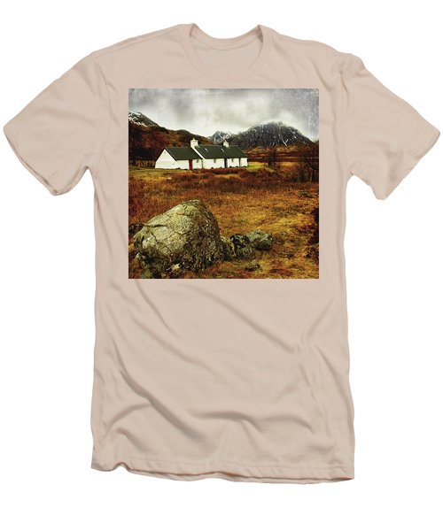 Blackrock Cottage Glencoe Men's T-Shirt (Slim Fit) by Jacqi Elmslie