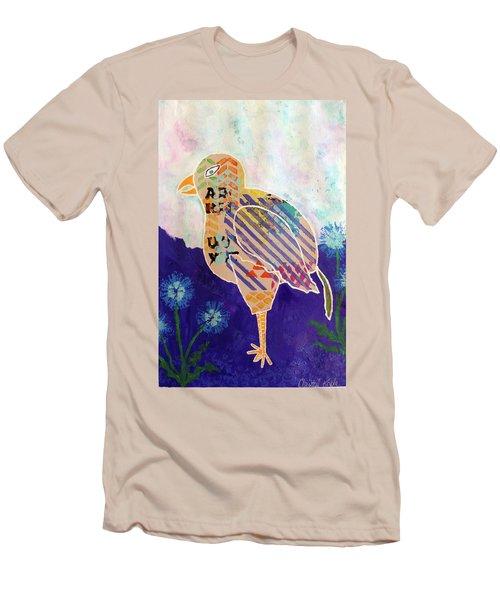 Blue Cornflower Men's T-Shirt (Athletic Fit)