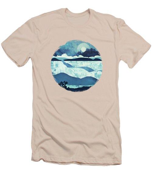 Blue Desert Men's T-Shirt (Athletic Fit)