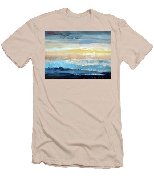 Blue Ridge Mountain Sunset 1.0 Men's T-Shirt (Athletic Fit)