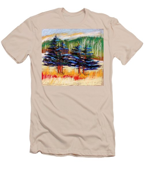 Blue Spruce Stand Men's T-Shirt (Athletic Fit)