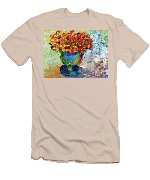 Blue Vase Men's T-Shirt (Athletic Fit)