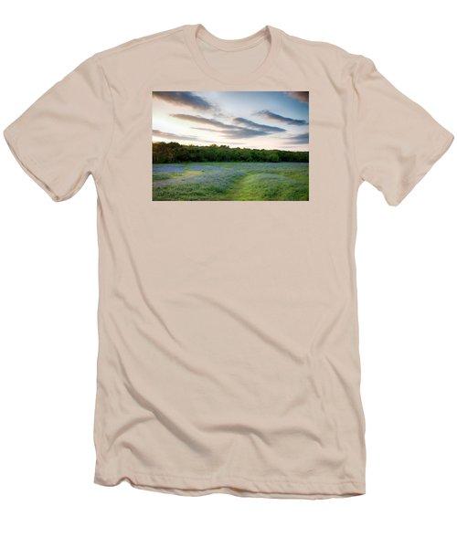 Bluebonnet Trail Ennis Texas 2015 V5 Men's T-Shirt (Athletic Fit)