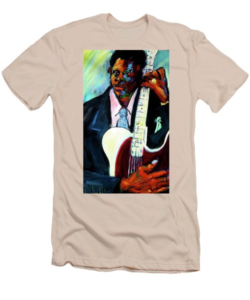 Blues Boy Men's T-Shirt (Slim Fit) by Les Leffingwell