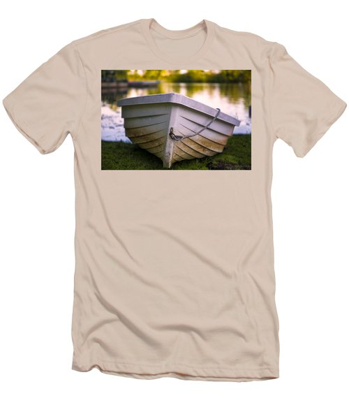 Boat On Land Men's T-Shirt (Athletic Fit)