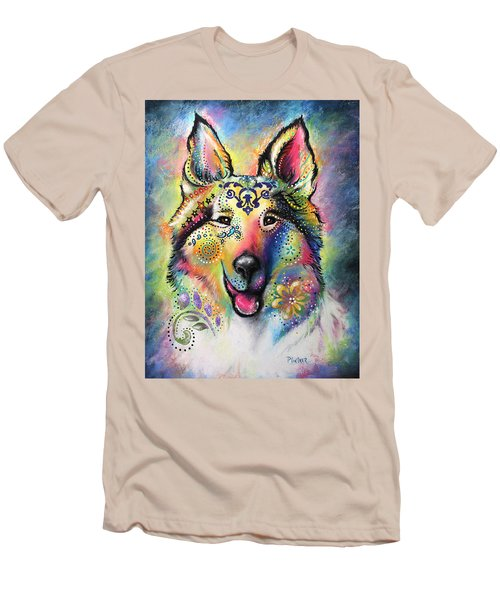 Collie Men's T-Shirt (Athletic Fit)